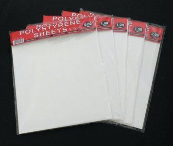 Polystyrene sheets big 1,2mm -  2 Platten - 220 x 190mm · PM 528 ·  plusmodel · 1:35