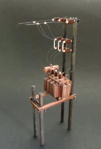 Transformer station · PM 535 ·  plusmodel · 1:35