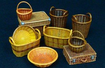 Wicker baskets big · PM 537 ·  plusmodel · 1:35