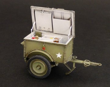 U.S.Telephone trailer K-38 · PM 538 ·  plusmodel · 1:35