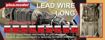 Lead wire 0,2 mm, long 240 mm · PM 543 ·  plusmodel