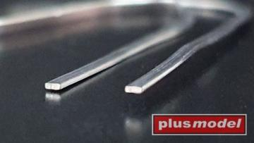 Lead wire flat 0,4 x 1 mm - 140mm long · PM 558 ·  plusmodel
