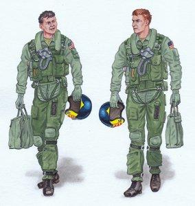 Crew F-14 Tomcat · PM AL3005 ·  plusmodel · 1:32
