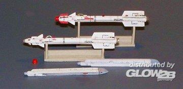 Russisches Geschoss R-73 AA-11 Archer · PM AL4009 ·  plusmodel · 1:48