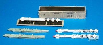 Russian missile UZR-60 training unit w.b · PM AL4016 ·  plusmodel · 1:48
