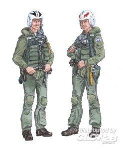 Crew F-4 Phantom · PM AL4018 ·  plusmodel · 1:48
