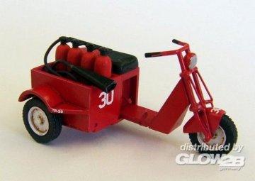 U.S. scooter - fire fighter · PM AL4028 ·  plusmodel · 1:48