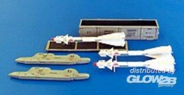 Missile R-60 for Mig-29 only · PM AL4032 ·  plusmodel · 1:48