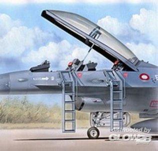 Ladders F-16 B/D · PM AL4042 ·  plusmodel · 1:48
