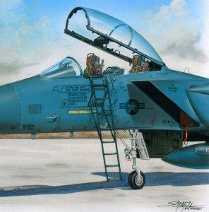 Ladder for F-15 · PM AL4060 ·  plusmodel · 1:48
