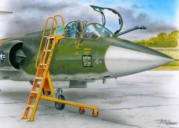 Ladder for F-104 · PM AL4061 ·  plusmodel · 1:48