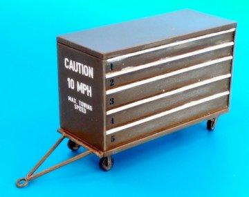 USAF portable tool box · PM AL4075 ·  plusmodel · 1:48