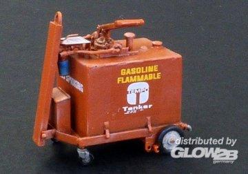 100 gallon fuel cart · PM AL4076 ·  plusmodel · 1:48