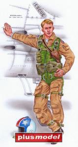 Pilot F-8 Crusader · PM AL4079 ·  plusmodel · 1:48