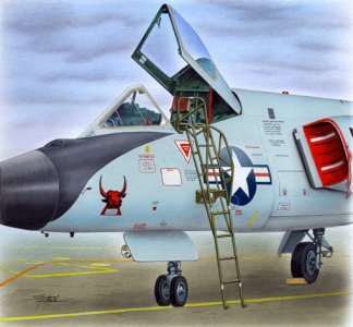 Ladder - F-106 · PM AL4084 ·  plusmodel · 1:48