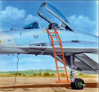 Ladder - MiG-29 · PM AL4087 ·  plusmodel · 1:48
