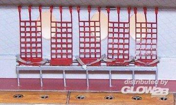 US universal seats · PM AL700401 ·  plusmodel · 1:72
