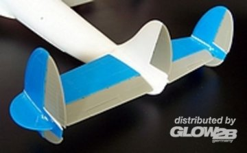 Tail surfaces for Constelation · PM AL7008 ·  plusmodel · 1:72