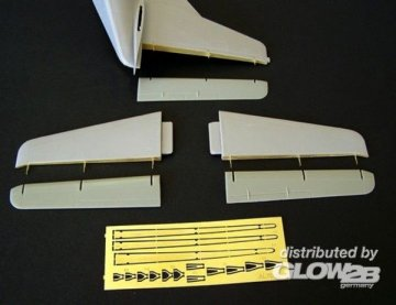 Tail surfaces for C123 Provider · PM AL7012 ·  plusmodel · 1:72