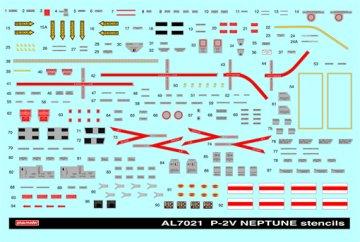 Stencils for P2V Neptune · PM AL7021 ·  plusmodel · 1:72