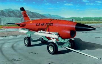 Firebee BQM-34 with transpoprt cart · PM AL7035 ·  plusmodel · 1:72