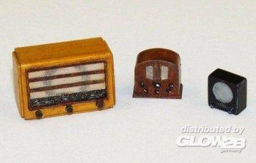 Old radios · PM EL031 ·  plusmodel · 1:35