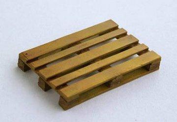 Holzpalette · PM EL036 ·  plusmodel · 1:35