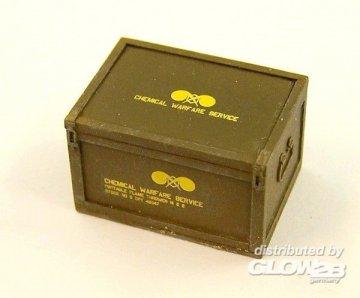 Box for U.S. flame-thrower · PM EL046 ·  plusmodel · 1:35