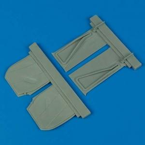 P-51B Mustang - Undercarriage covers [Trumpeter] · QB 32061 ·  Quickboost · 1:32