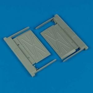 MiG-29A Fulcrum - Intake covers (B) [Trumpeter] · QB 32091 ·  Quickboost · 1:32