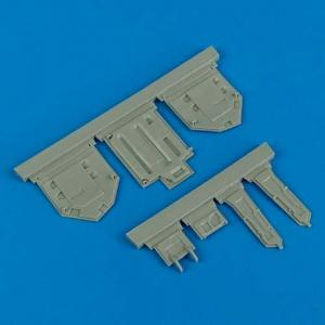 F-86 Sabre - Undercarriage covers [Kinetic] · QB 32129 ·  Quickboost · 1:32