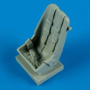 Messerschmitt Bf 109 F - Early seat with safety belts · QB 32135 ·  Quickboost · 1:32