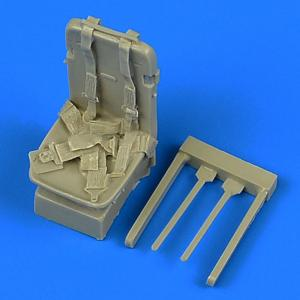 P-51D Mustang - Seat with safety belts · QB 32214 ·  Quickboost · 1:32