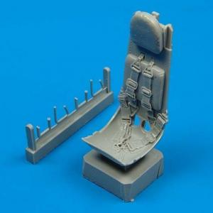 Heinkel He 162 - Ejection seat with safety belts [Italeri] · QB 48025 ·  Quickboost · 1:48