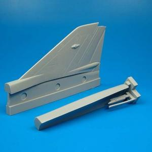MiG-21 MF - Vertical tail area [Academy] · QB 48035 ·  Quickboost · 1:48