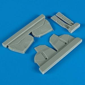 P-47D - Undercarriage covers [Hasegawa] · QB 48086 ·  Quickboost · 1:48