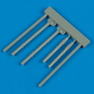 Wellington - Fuel outlet pipe closed flaps [Trumpeter] · QB 48208 ·  Quickboost · 1:48