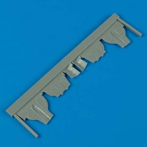 MiG-3 - Undercarriage covers [Trumpeter] · QB 48233 ·  Quickboost · 1:48