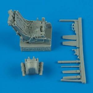 MiG-29A - Ejection seat with safety belts · QB 48237 ·  Quickboost · 1:48