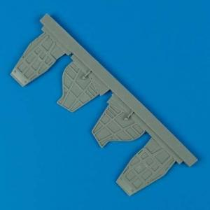 SB2C Helldiver - Air scoops [Accurate Miniatures] · QB 48267 ·  Quickboost · 1:48