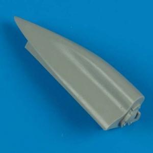 Re.2002 Ariete - Correct fuselage spine · QB 48321 ·  Quickboost · 1:48
