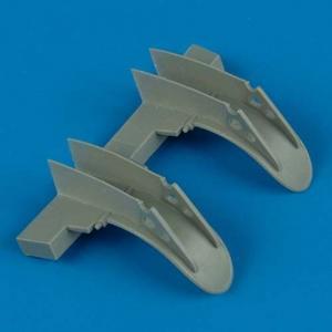 Mosquito - Wheel fenders [Tamiya] · QB 48325 ·  Quickboost · 1:48