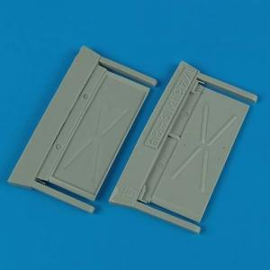 MiG-29A fulcrum - Air intake covers [Academy] · QB 48362 ·  Quickboost · 1:48