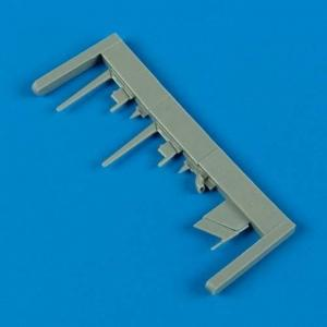 P-47D/M/N Th- Underbolt - Seat with safety belts · QB 48380 ·  Quickboost · 1:48
