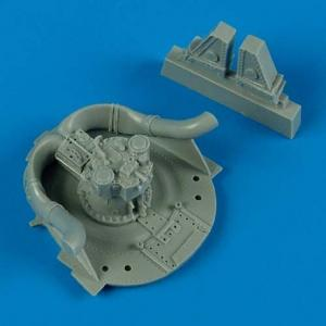 F8F Bearcat - Wheel well details · QB 48432 ·  Quickboost · 1:48