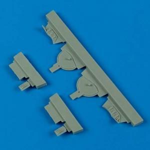 A6M5 Zero - Undercarriage covers [Hasegawa] · QB 48451 ·  Quickboost · 1:48
