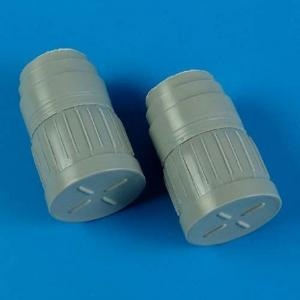 MiG-29 Fulcrum - Correct exhaust nozzle with covers · QB 48454 ·  Quickboost · 1:48