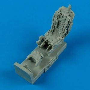 MiG-21PFM/MF/BIS/SMT - Ejection seat with safety belts · QB 48507 ·  Quickboost · 1:48