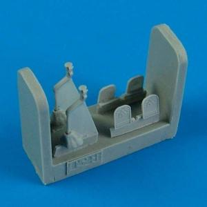 T-28 Trojan - Control Lever and Rudder Pedals [Roden] · QB 48513 ·  Quickboost · 1:48