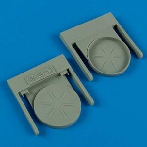 MiG-29A Fulcrum - Exhaust Covers [Great Wall Hobby] · QB 48516 ·  Quickboost · 1:48